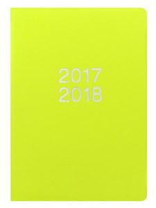 Kalender 2017-2018 Letts Dazzle A5 V/U pear
