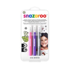 Ansiktsmaling Snazaroo Brush Pen Fantasy Row sett 3