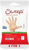 Sweeps® Hand wipes, 15st