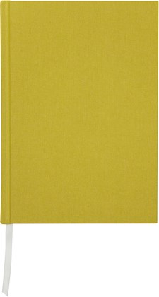 Notatbok Burde Tekstillindet A5 Grønn