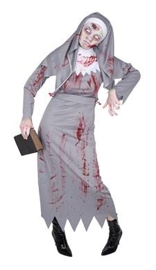 Zombie Nonne Karnevalskostyme