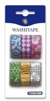 Washitape mönster och glitter Playbox