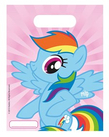 My Little Pony Rainbow Godispåsar, 6 st