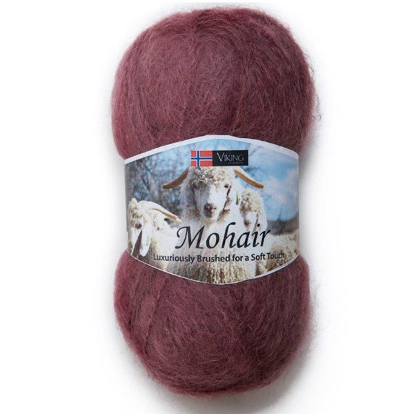 Viking of Norway Mohair 50 gr ruoste