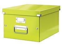 Oppbevaringsboks M Click & Store WOW grønn