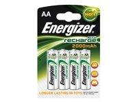Batteri Laddbar ENERGIZER AA 4/fp