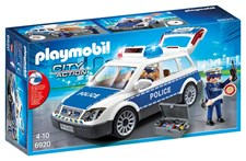 Politibil med lys og lyd, Playmobil City Action (6920)