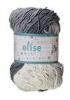 Elise 100g Vaaleanharmaa, tummanharmaa, valkoinen batiikki (69014)