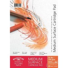Skisseblokk Cartridge Sketch Pad Winsor & Newton A3 150 g