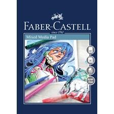 Mixed Mediablock Faber-Castell A5, 250 gr, 30 ark