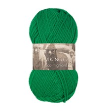 Highland Eco Wool 50 g Green 230 Viking Garn