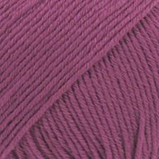 Drops Cotton Merino Uni Colour Garn Ullmix 50g Heather 21