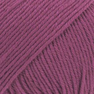 Drops Cotton Merino Uni Colour Lanka Villasekoitus 50g Heather 21