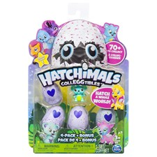 Hatchimals CollEGGtibles 4 kpl + bonus