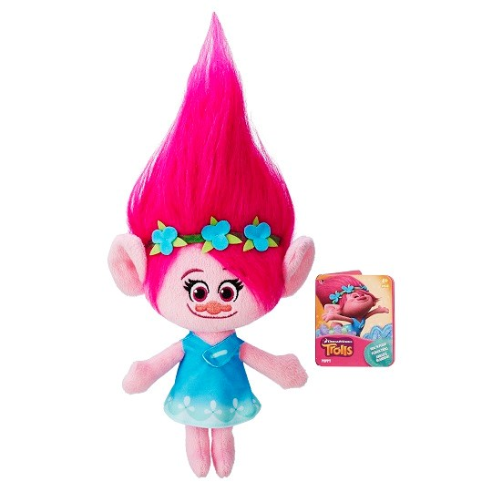 Poppy  Hug 'N Plush mjukisdjur  Trolls - gosedjur