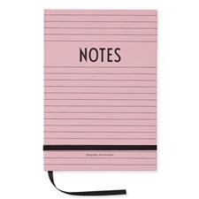 Design Letters Anteckningsbok Rosa