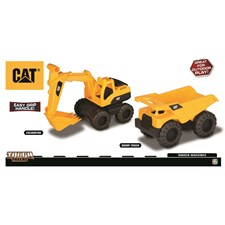 Rugged Machines, Dumper och Grävmaskin, CAT