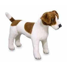 Jack Russel Terrier, Stort mjukisdjur, Melissa & Doug