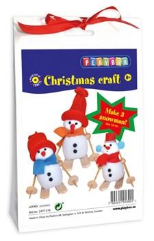 Materialsett, Jul, Snømenn, Playbox
