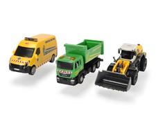 Arbetsfordon 3-pack, Dickie Toys