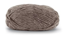 Knit At Home Felting Wool Ullgarn 50 g Brun Melert 807