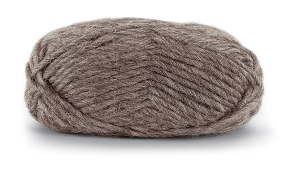 Knit At Home Felting Wool Ullgarn 50 g Brun Melert 807
