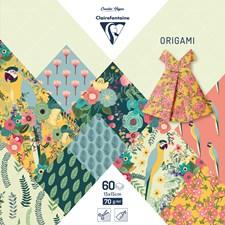 Origami, 60 arkkia, 15 x 15 cm, Kiribati