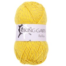 Viking of Norway Reflex Garn Ullmix 50g Gul 445