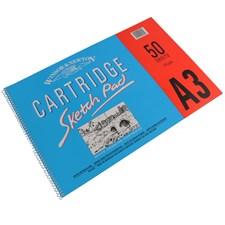 Skissblock Cartridge Sketch Pad Winsor & NewtonA3 110 g