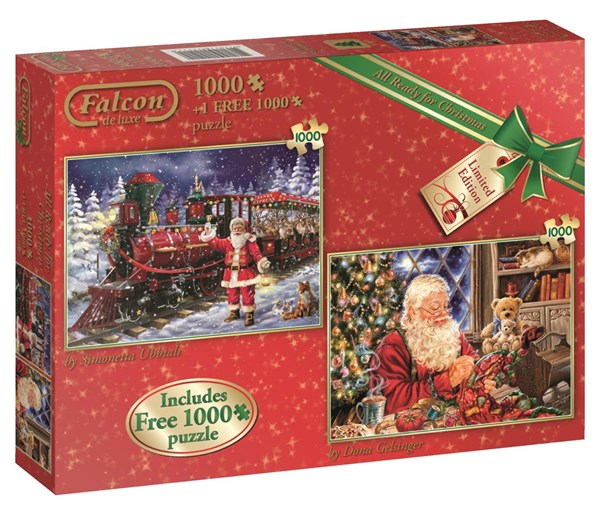 All ready for Christmas, Julpussel 2 x 1000 bitar