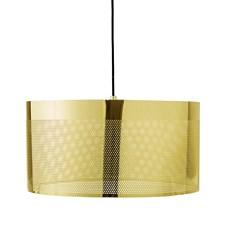 Bloomingville Taklampa Guld Metall. Diameter40xhöjd20 cm