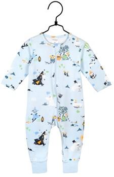 Höststund pyjamas blå, strl 74, mumin
