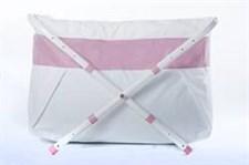 BiBaBad Flexi badkar, 70-90 cm PinkLine