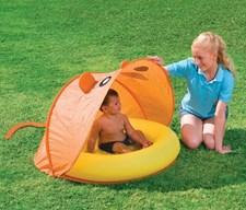 Barnebasseng med UV-filter (gul/oransje), Bestway