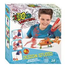 Design Studio, Wild Fun, Fire 3D-penner, IDO3D Vertical