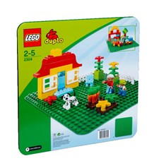 Basplatta, stor grön, LEGO DUPLO (2304)