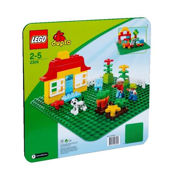 Basplatta  stor grön  LEGO DUPLO (2304)  Lego - lego & duplo