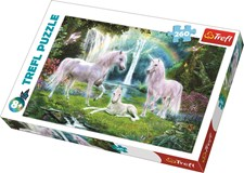 Pussel 260 bitar, Unicorns