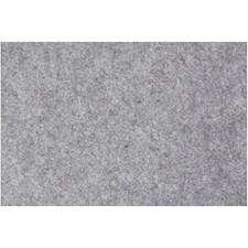Hobbyfilt, ark 42x60 cm, tykkelse 3 mm, 1 ark, grå