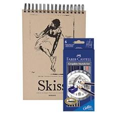 Presentpack med block och pennor