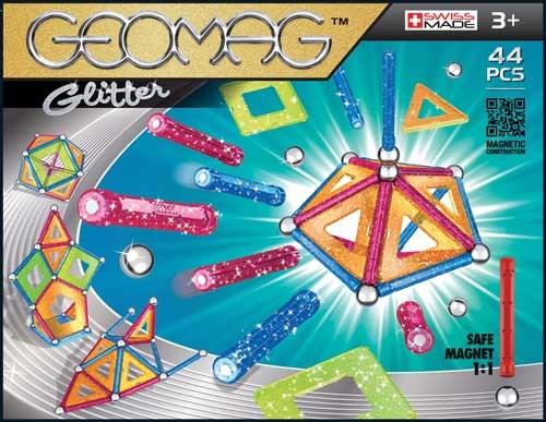 Geomag Panels Glitter, 44 osaa