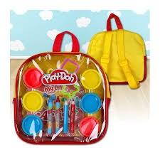 Aktivitetsryggsäck, Play-Doh