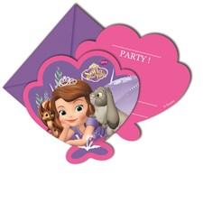 Disney Sofia Den Första Mystic Isles Inbjudningskort, 6 st