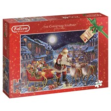 Puslespill, The Christmas Journey, 200 XL-brikker