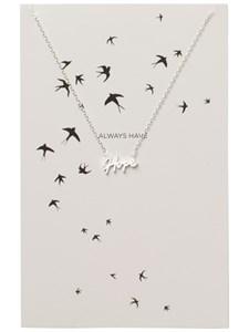 Halsband, Miriam, Hope, Silverfärg