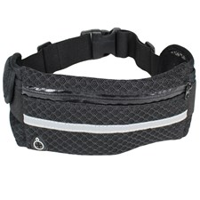 Running waistbag, Svart