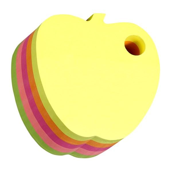 Neonkube Eple, STICK´N 70x70mm, 400 blad