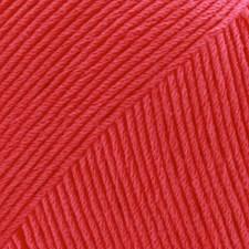 Safran Drops design Garn Bomull 50 g korall 13