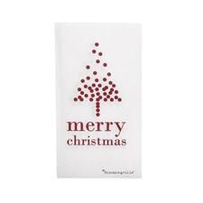 Bloomingville Julservetter Merry Christmas Vit 16-pack