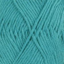 Drops Cotton Light Uni Colour Lanka Puuvillasekoitus 50g Turquoise 14